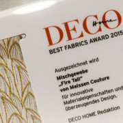 BEST FABRIC AWARD 2015