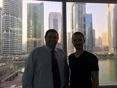 Бизнес сообщество в ОАЭ.