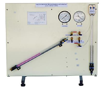 PERT Industrials Hydraulics Bench Pumps Pressure Measurement Apparatus