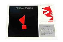 KVD Technologies Maths Puzzles Tangram Puzzle