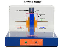 KVD Technologies Renewable Alternative Energy Exhibits Fuel Cell Demonstrator Power Mode