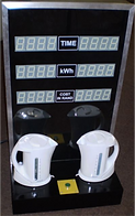KVD Technologies Electricity Exhibits Power Usage Demonstrator