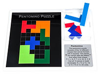 KVD Technologies Maths Puzzles Pentomino