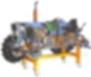 Cutaway model of Massey Ferguson Tractor Pert Industrials