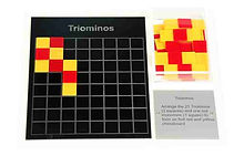 KVD Technologies Maths Puzzles Triominos