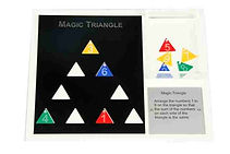 KVD Technologies Maths Puzzles Magic Triangle