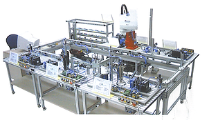 PERT Industrials Mechatronics FMS Flexible Manufacturing System
