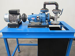 PERT Industrials Trade Test Fitter Turner Pump Test Unit