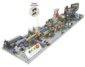 PERT Industrials Mechatronics FMS Smart Module System