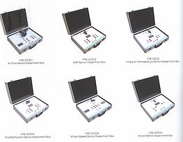 Sensors Actuators Experimental boxes Pert Industrials Automotive