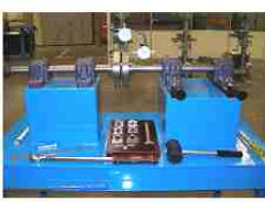 PERT Industrials Trade Test Fitter Turner Shaft Alignment Bench Two Dial Indicators