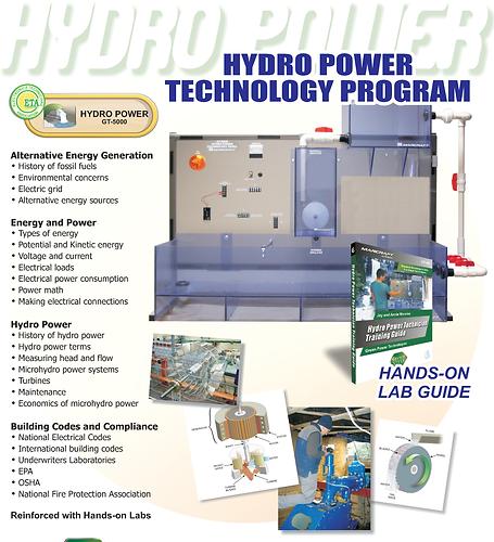 PERT Industrials Alternative Energy Hydro Power Technology Program