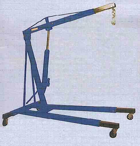 2 ton Hydraulic Engine Crane