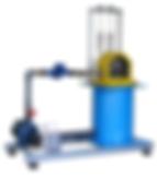 PERT Industrials Turbine Airflow Mini Pelton Turbine Test Set
