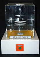 KVD Technologies Engineering Exhibits Stirling Engine