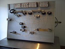 PERT Industrials Trade Test Fitter Turner Pneumatics Bench
