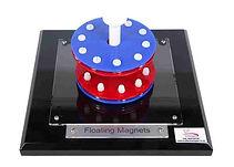 KVD Technologies Physics Exhibits Floating Magnets