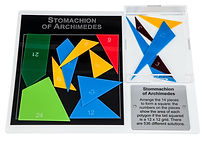 KVD Technologies Maths Puzzles Stomachion of Archimedes