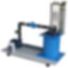 PERT Industrials Turbine Airflow Mini Axial Flow Propeller Turbine Test