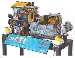 Cutaway Hybrid Engine Pert Industrials Automotive