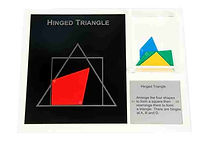 KVD Technologies Maths Puzzles Hinged Triangle