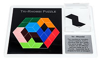 KVD Technologies Maths Puzzles Tri-Rhombi Puzzle