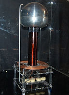 KVD Technologies Physics Exhibits Tesla Coil