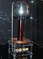 KVD Technologies Physics Exhibits Tesla Coil