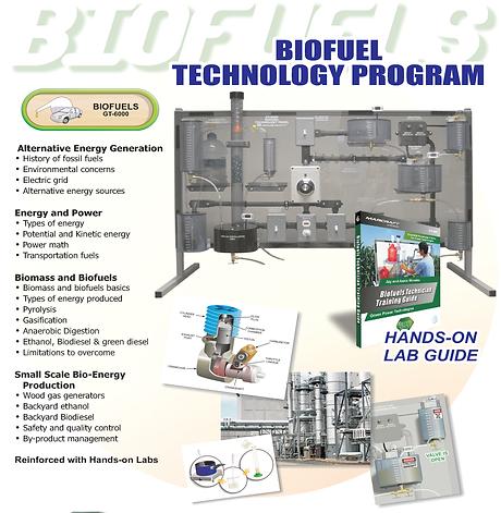 PERT Industrials Alternative Energy Bio Fuel Technology Program