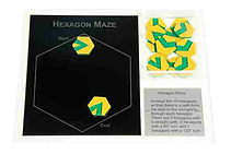 KVD Technologies Maths Puzzles Hexagon Maze