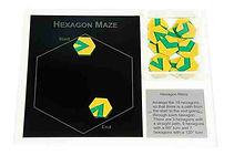 KVD Technologies Maths Puzzles Hexagon Maze