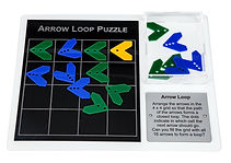 KVD Technologies Maths Puzzles Arrow Loop