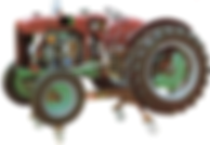 Pert Industrials Agricultural cut away model Tractor (Diesel)