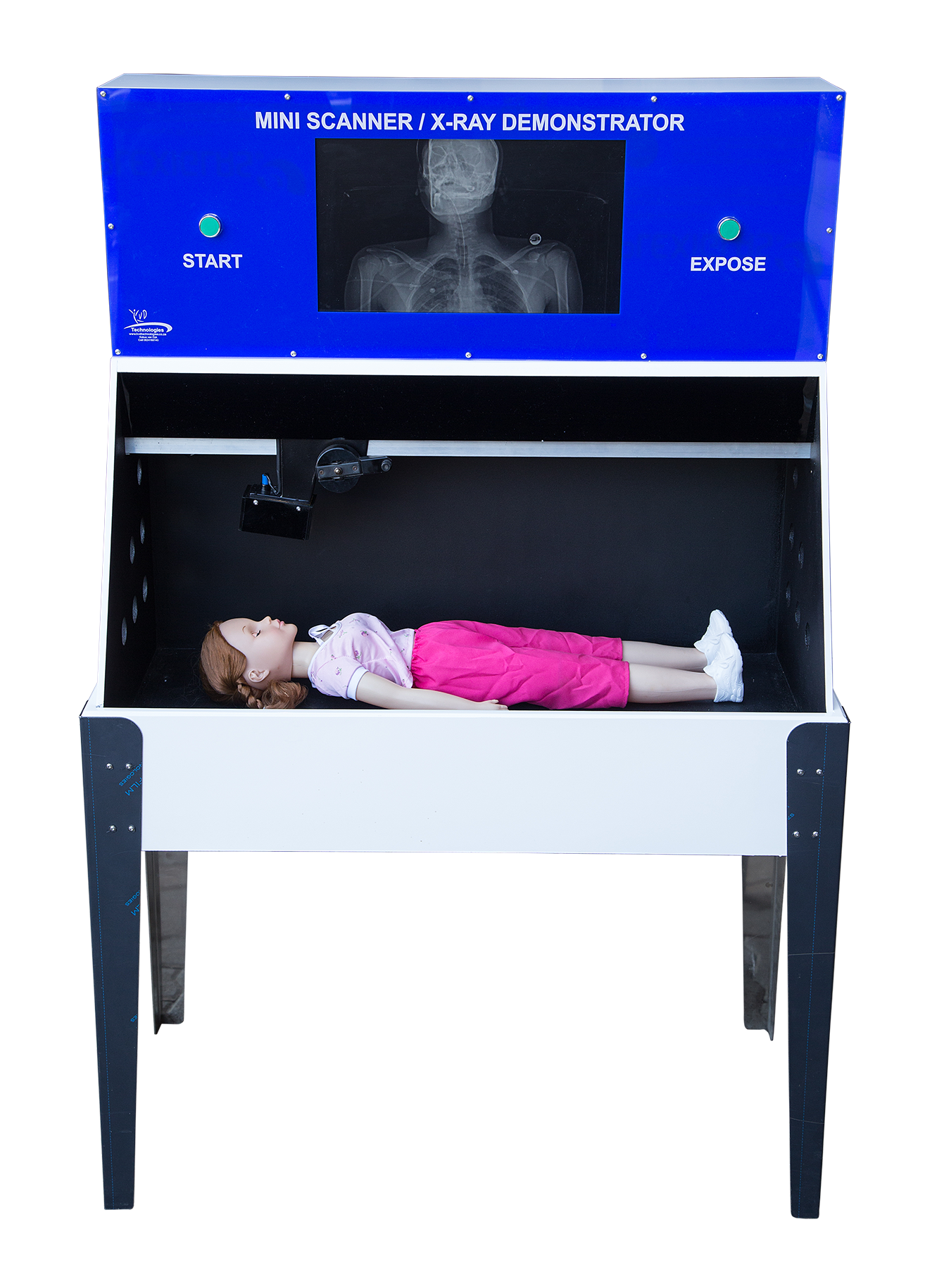 Mini Scanner/X-Ray demonstrator