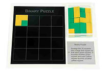 KVD Technologies Maths Puzzles Binary Puzzle