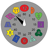 KVD Technologies Educational Puzzles Clock