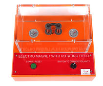 KVD Technologies Physics Exhibits Electro Magnet Rotating Field