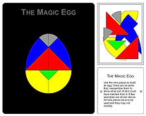 KVD Technologies Maths Puzzles Magic Egg