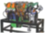 Cutaway Diesel Engine Pert Industrials Automotive