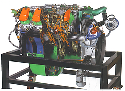 Cutaway Diesel Engine Pert Industrials Automotive
