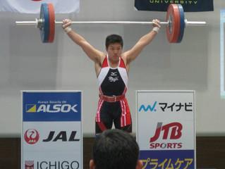 第63回全日本学生ウエイトリフティング個人選手権大会応援記