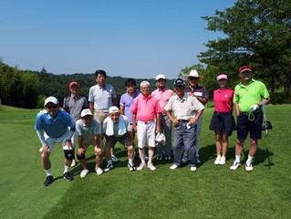 MKC夏季ゴルフコンペ臨時大会参加報告