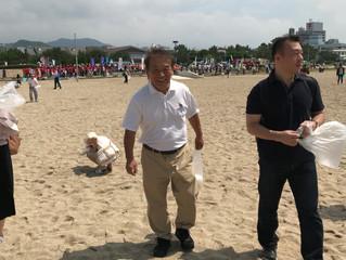 2018須磨海岸清掃ボランティア 参加報告その②
