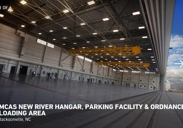 MCAS New River Hangar, Parking & Ordnance Loading FacilityMortenson Construction