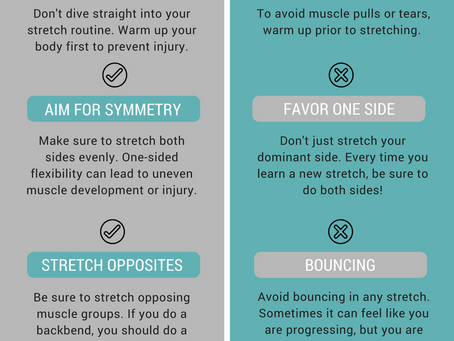 Stretching: Do's & Don'ts