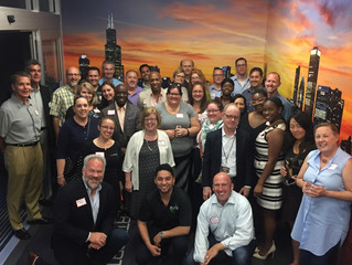 Chicago Chapter DEMA Meeting July 2017 at Downtown Helicopter Facility