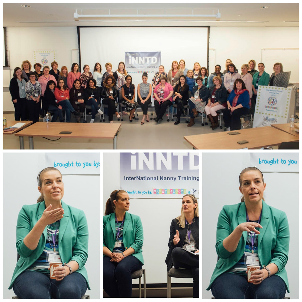 International Nanny Training Day Chicago 2018 Collage of Attendees