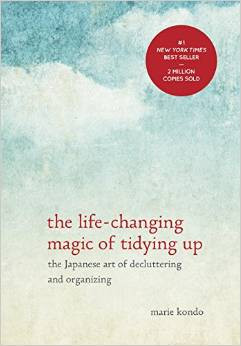 "Book Cover of ""The Life-Changing Magic of Tidying Up"" by Marie Kondo"