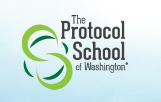 The Protocol School of Washington School Logo