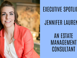 """Ms. Laurence featured in DataBird Business Journal for their """"Executive Spotlight"""" Februar"""